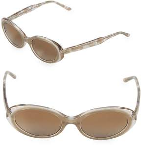 Vera Wang Women's 51MM Oval Sunglasses