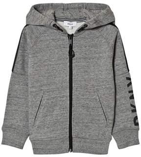 DKNY Grey Marl Branded Hoody