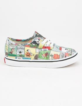 Vans x PEANUTS Comics Authentic Toddlers Shoes