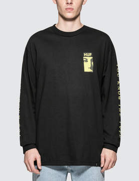 HUF The Type L/S T-Shirt