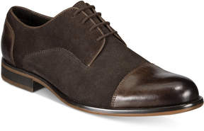 Alfani Men's Avery Suede Cap-Toe Oxfords, Created for Macy's Men's Shoes