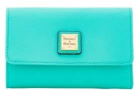Dooney & Bourke Belvedere Flap Wallet - JADE - STYLE
