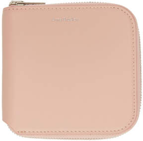 Acne Studios Pink Csarite-S Zippered Wallet