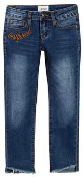 Hudson Embroidered Skinny Crop Jeans (Big Girls)