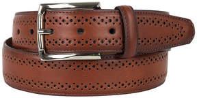 Asstd National Brand Dallas + Main Brogue Dress Belt
