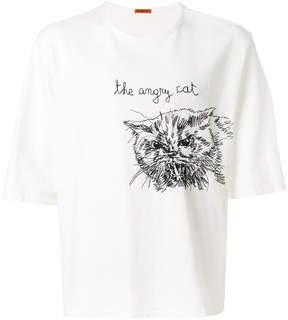 Barena oversized cat print T-shirt