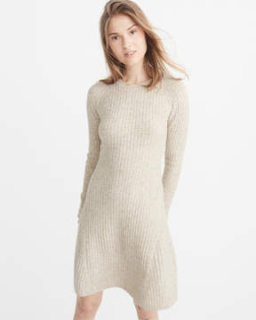 Abercrombie & Fitch Fit & Flare Sweater Dress