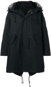Calvin Klein oversized parka coat