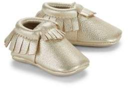Freshly Picked Baby's Signature Core Leather Moccasins