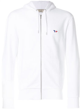 MAISON KITSUNÉ zipped hooded jacket