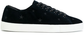 D.A.T.E embroidered star sneakers