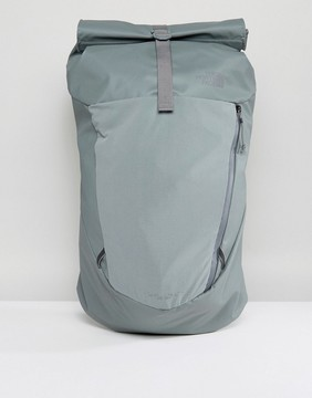 The North Face Peckham Rolltop Backpack 27 Litres in Green