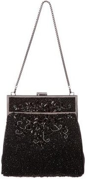 Badgley Mischka Bead-Embellished Evening Bag