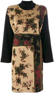 Antonio Marras floral pattern shift dress