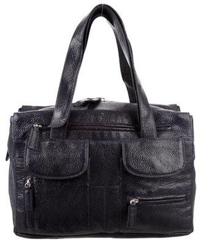 Alberta Ferretti Patent Leather Tote Bag