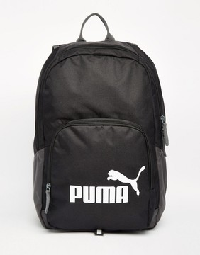 Puma Fundamentals Phase Backpack In Black 7358901