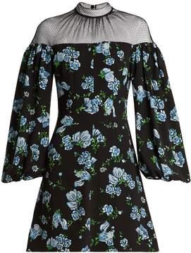 Emilia Wickstead Femie floral-print textured-georgette dress