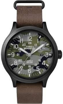 Timex Expedition Scout TW4B06600 Camo/Brown Analog Quartz Men's Watch