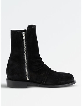 Amiri Zipped ankle boots