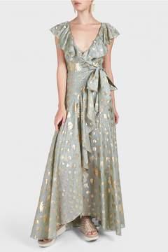 Temperley London Riviera Ruffle Dress