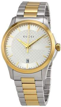 Gucci G-Timeless Silver Dial Men's Watch
