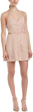 Dolce Vita Bree Linen-Blend A-Line Dress