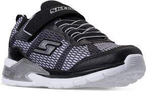 Skechers Little Boys' S Lights: Erupters Ii - Lava Waves Light-Up Casual Sneakers from Finish Line