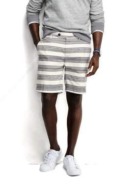 Lands' End Lands'end Men's 8 Linen Cotton Print Marina Shorts