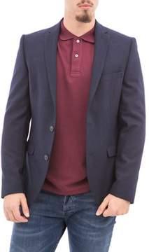 Selected Men's Blue Polyester Blazer.