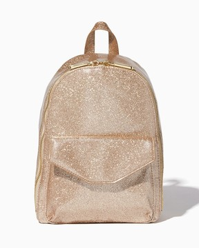 Charming charlie Twinkling Glitter Backpack