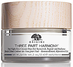 Origins Three Part HarmonyTM Day & Night Eye Cream Duo for Renewal, Repair and Radiance