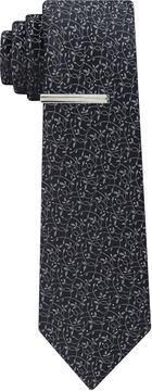 Jf J.Ferrar Winter Formal Floral Tie