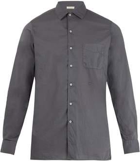 Massimo Alba Point-collar fine-cotton shirt