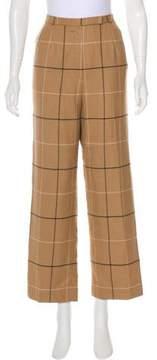 Bill Blass Striped Wide-Leg Pants