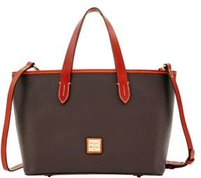 Dooney & Bourke Pebble Grain Brandy Bag - CHOCOLATE - STYLE