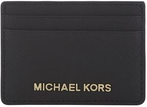Michael Kors Jet Set Travel Card Holder - BLACK - STYLE