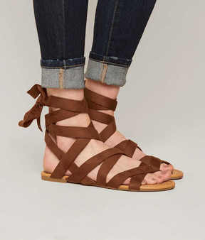 Soda Sunglasses Strappy Sandal