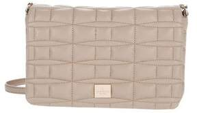 Kate Spade Quilted Leather Crossbody Bag - BROWN - STYLE