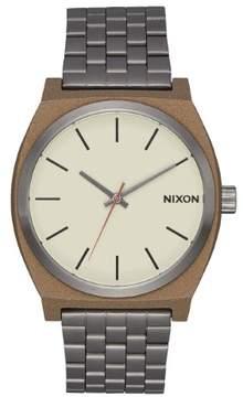 Nixon A045-2091 Gunmetal 37mm Stainless steel Time Teller Mens Watch