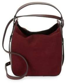 KENDALL + KYLIE Molly Suede Mini Bucket Bag