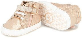 MICHAEL Michael Kors Girls' Baby Rio Hightop Sneaker Crib Shoes