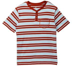Tucker + Tate Striped Pocket Henley (Big Boys)