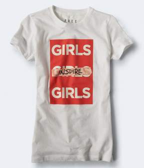 Aeropostale Free State Girls Inspire Girls Graphic Tee