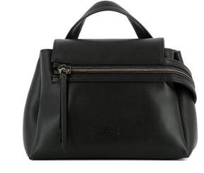 Hogan Women's Black Leather Handbag.