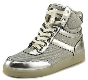Bebe Sport Krysten Women Silver Sneakers.