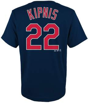 Majestic Boys 4-18 Cleveland Indians Jason Kipnis Player Name and Number Tee