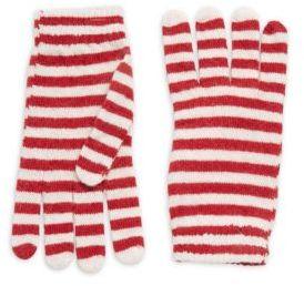 RED Valentino Striped Gloves