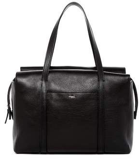 Shinola Leather Zip Satchel