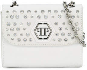 Philipp Plein Junior studded shoulder bag