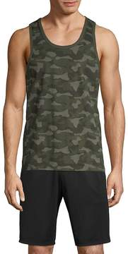 Slate & Stone Men's Camouflage Cotton Tank Top